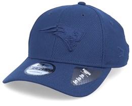 New England Patriots Mono Team Colour 9Fiorty Blue/Blue Adjustable - New Era