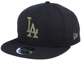 Los Angeles Dodgers Utility 9Fifty Black/Green Snapback - New Era