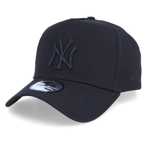 top design online retailer look good shoes sale New York Yankees League Essential Black/Black Adjustable - New Era ...