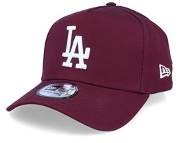 Los Angeles Dodgers League Essential Maroon/White Adjustable - New Era