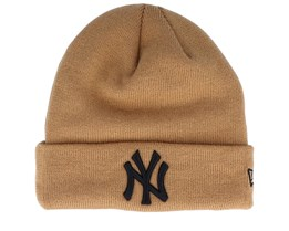 New York Yankees League Essential Knit Brown/Black Cuff - New Era
