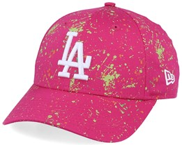 Los Angeles Dodgers 9Forty Paint Pack Pink/White Adjustable - New Era