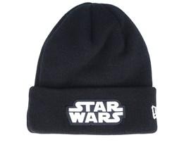 Kids Star Wars Character Cuff Knit Black/White Cuff - New Era