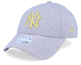 New York Yankees Jersey 9Forty Heather Grey/Gold Adjustable - New Era