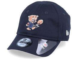 Kid Chicago Bears Infant Mascot 9Forty French Navy Adjustable - New Era