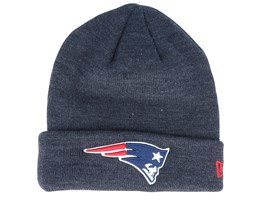 New England Patriots Dark Heather Cuff - New Era