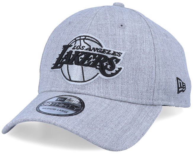 LA Lakers 39Thirty Heather Essential Grey/Black Flexfit - New Era