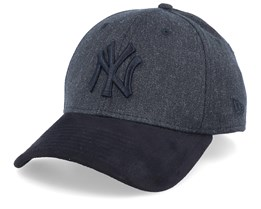 New York Yankees 39Thirty Heather Black/Black Flexfit - New Era