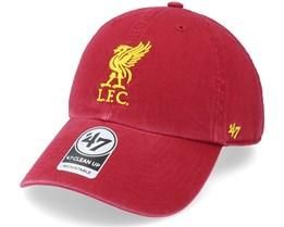 Liverpool Fc Clean Up Razor Red Dad Cap - 47 Brand