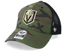 Vegas Golden Knights 47 Mvp Mesh Camo/Black Trucker - 47 Brand