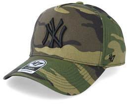 New York Yankees Grove 47 Mvp Camo Adjustable - 47 Brand