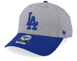Los Angeles Dodgers Palomino Two Tone 47 Mvp Heather/Royal Adjustable - 47 Brand