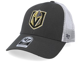 Vegas Golden Knights Malvern 47 Mvp Wool Charcoal/White Trucker - 47 Brand