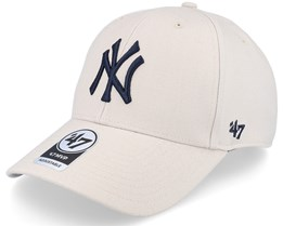 New York Yankees Mvp Bone Adjustable - 47 Brand