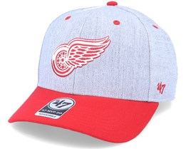 Detroit Red Wings Storm Cloud Mvp DP Charcoal/RedAdjustable - 47 Brand