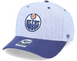 Edmonton Oilers Storm Cloud Mvp DP Charcoal/BlueAdjustable - 47 Brand