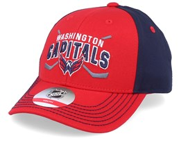 Kids Washington Capitals Fan Faceoff Red/Navy Adjustable - Outerstuff