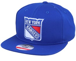 Kids New York Rangers Solid Blue Snapback - Outerstuff