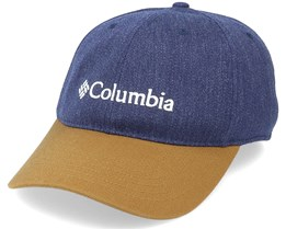 Lodge™ Adjustable Back Ball Navy/Khaki Dad Cap - Columbia