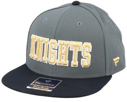 Vegas Golden Knights Hometown Dark Shadow/Black Snapback - Fanatics