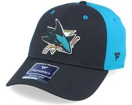 San Jose Sharks Speed Black/Blue Flexfit -Fanatics