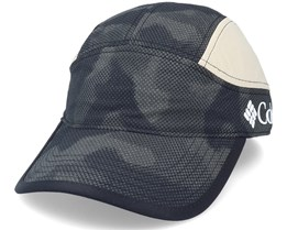 Tech Trail™ Hat Black 5-Panel - Columbia