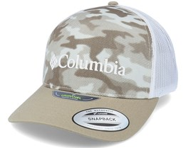Punchbowl™ Ancient Fossil Camo,White Trucker - Columbia