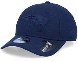 Kids New England Patriots Mono Team 9Forty Colour Navy/Navy Adjustable - New Era