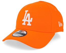 Los Angeles Dodgers Neon Basic 9Forty Orange/White Adjustable - New Era