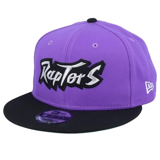 Keps Toronto Raptors Double Hit 9Fifty Purple/Black Snapback - New Era - Lila Snapback