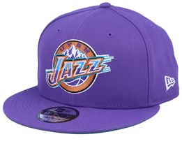 Utah Jazz Team Basic 9Fifty Purple - New Era