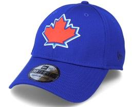 Toronto Blue Jays Of Clubhouse MLB Blue 39Thirty Flexfit - New Era
