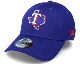 Texas Rangers Of Clubhouse MLB Royal Blue 39Thirty Flexfit - New Era