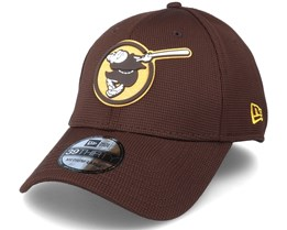 San Diego Padres Of Clubhouse MLB Brown 39Thirty Flexfit  - New Era
