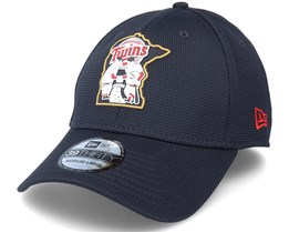 Minnesota Twins Of Clubhouse MLB French Navy 39Thirty Flexfit - New Era