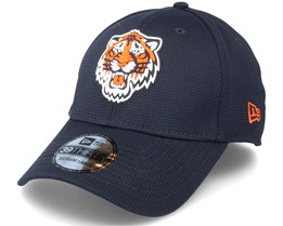 Detroit Tigers Of Clubhouse MLB French Navy 39Thirty Flexfit - New Era