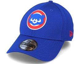 Chicago Cubs Of Clubhouse MLB 39Thirty Blue Flexfit - New Era