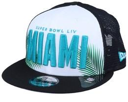 Super Bowl LIV Miami 9Fifty White/Black Trucker - New Era