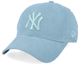 New York Yankees Women Corduroy 9Forty Pastel Mint Adjustable - New Era