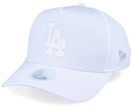 Los Angeles Dodgers Women Iridescent A-Frame White Adjustable - New Era