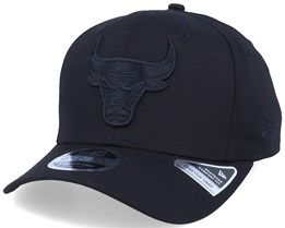 Chicago Bulls Tonal 9Fifty Stretch-Snap Black/Black Adjustable - New Era
