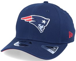 New England Patriots 9Fifty Team Stretch Snap Navy Adjustable - New Era