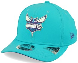 Charlotte Hornets 9Fifty Team Stretch Snap Teal Adjustable - New Era