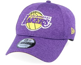 LA Lakers Shadow Tech 9Forty Heather Purple/Yellow Adjustable - New Era