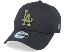 LA Dodgers Seasonal Colour 39Thirty Black/Olive Flexfit - New Era