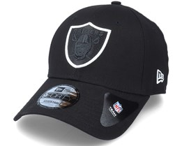 Las Vegas Raiders NFL 9Forty Black Adjustable - New Era