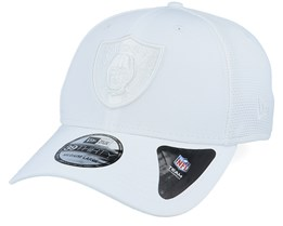 Oakland Raiders NFL 39Thirty White/White Flexfit - New Era