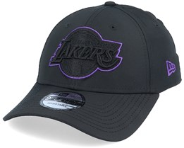 LA Lakers NBA Colour Pop 9Forty Black Adjustable - New Era