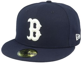 Boston Red Sox MLB 59Fifty Navy/White Fitted - New Era