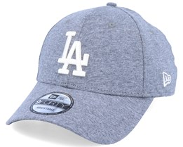 Los Angeles Dodgers Jersey Essential 9Forty Heather Grey/White Adjustable - New Era